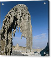 The Worlds Only Active Natrocarbonatite Acrylic Print