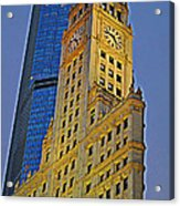 The Wrigley Building Acrylic Print