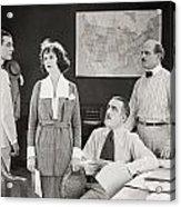 The Yelllow Typhoon, 1920 Acrylic Print