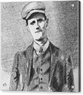 The Young James Joyce Acrylic Print