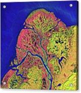 The Yukon Delta In Southwest Alaska Acrylic Print