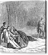 Theater: Duel, 1860 Acrylic Print