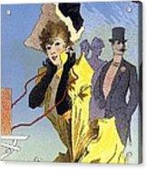 Theatrophone Poster Acrylic Print