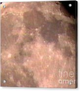 Theres A Moon Out Tonight Acrylic Print