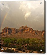 There's Gold At The End Of The Rainbow Acrylic Print