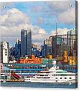There's My Yacht Acrylic Print