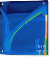 Thermogram Of Hot Water And A Faucet Acrylic Print