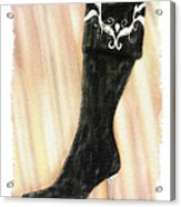 These Boots Are Made For Stompin' Acrylic Print