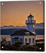 This Is Washington State No. 11 - Port Townsend Light House Acrylic Print