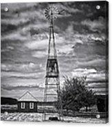 This Is Washington State No. 12 - The American Windmill Acrylic Print by Paul W Sharpe Aka Wizard of Wonders