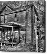 This Old House Acrylic Print by Todd Hostetter