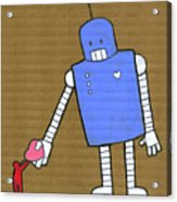 This Robot Has Heart Acrylic Print by All images © Tyler Garrison, 2009.