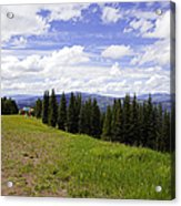 This Way To Eagle Nest - Vail Acrylic Print