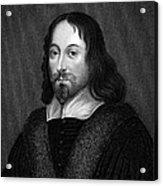 Thomas Browne (1605-1682) Acrylic Print