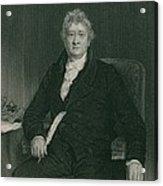 Thomas Clarkson 1760-1846 Acrylic Print by Everett
