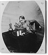 Thomas Edison, American Inventor Acrylic Print