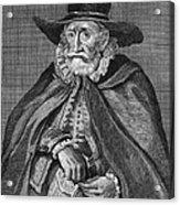 Thomas Hobson (1544-1631) Acrylic Print