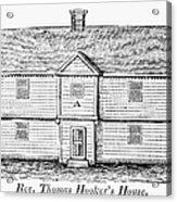 Thomas Hooker (1586-1647) Acrylic Print