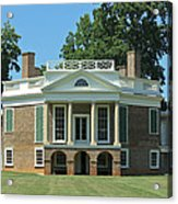 Thomas Jeffersons Poplar Forest Acrylic Print
