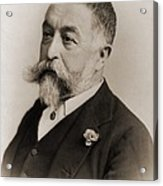 Thomas Nast 1840-1902, During His Later Acrylic Print by Everett