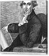 Thomas Paine (1737-1809) Acrylic Print