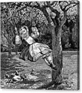 Thomas: The Swing, 1864 Acrylic Print