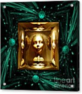 Thoughts Mirror Box Acrylic Print
