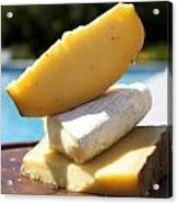 Three Cheeses Acrylic Print