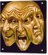 Three Faces Acrylic Print