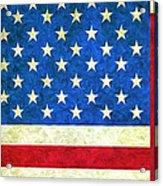 Three Flags Acrylic Print