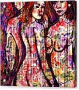 Three Graces Acrylic Print