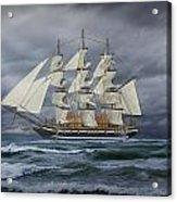 Three Masted Ship Acrylic Print
