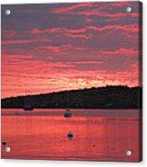 Three Master Sunrise Acrylic Print