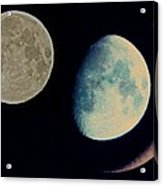 Three Moon Acrylic Print