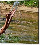 Throwing Water I Acrylic Print