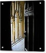 Thru The Chapel Door Acrylic Print