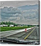 Thunder Road Acrylic Print