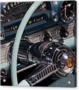 Thunderbird Steering Wheel Acrylic Print