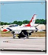 Thunderbirds 3d Acrylic Print