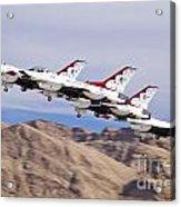 Thunderbirds Gear Up Acrylic Print