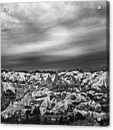 Thunderous Morning Over Cappadocia Acrylic Print