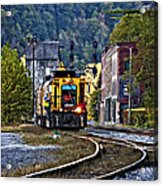 Thurmond Wv Train Acrylic Print