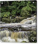 Thwaite Waterfall Yorkshire Dales Uk Acrylic Print