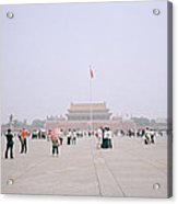 Tiananmen Square In Beijing In China Acrylic Print
