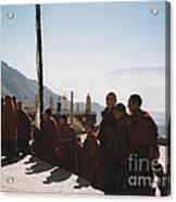 Tibetan Monks 2 Acrylic Print