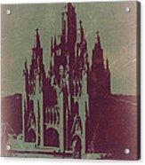 Tibidabo Barcelona Acrylic Print