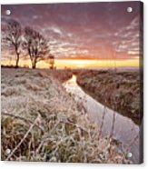 Tickenham Dawn Acrylic Print