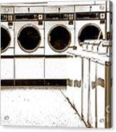 Tide's In Acrylic Print by Joe Jake Pratt