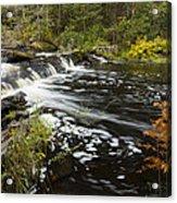 Tidga Creek Falls 1 Acrylic Print