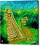 Tikal By Jrr Acrylic Print